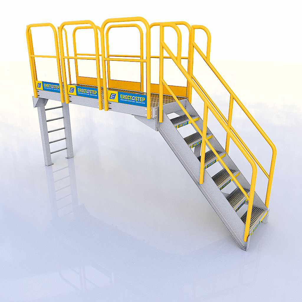 Catwalk Configuration - Industrial Stairs