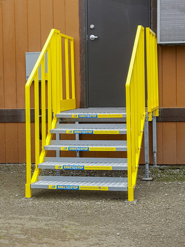 OSHA Portable Stairs 5 Step Direct Access